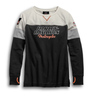 Camiseta Manga Larga H-D Racing