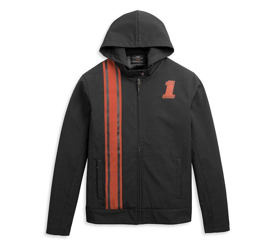 H97439-21VM Chaqueta H-D #1 Logo Vertical Striped Jacket