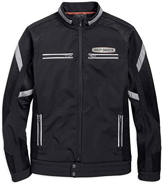 H97518-19VM Chaqueta Men Performance Soft Shell & Mesh.Harley-Davidson®