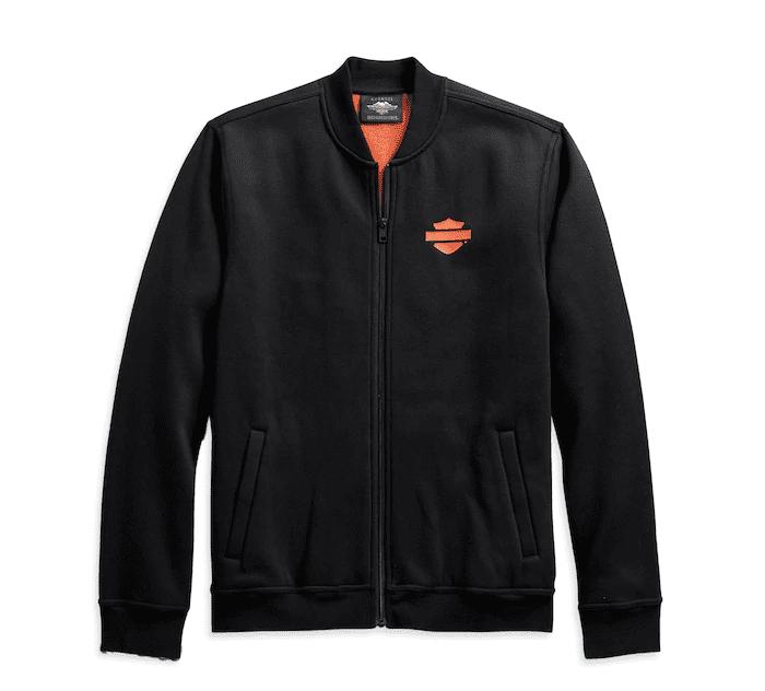 H98407-20VM Chaqueta Men's Vertical Stripe Fleece Jacket