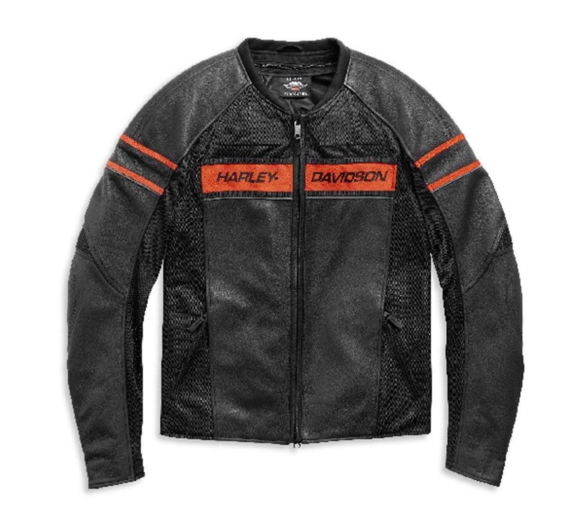 H98004-21EH Chaqueta De Cuero Brawler Harley-Davidson