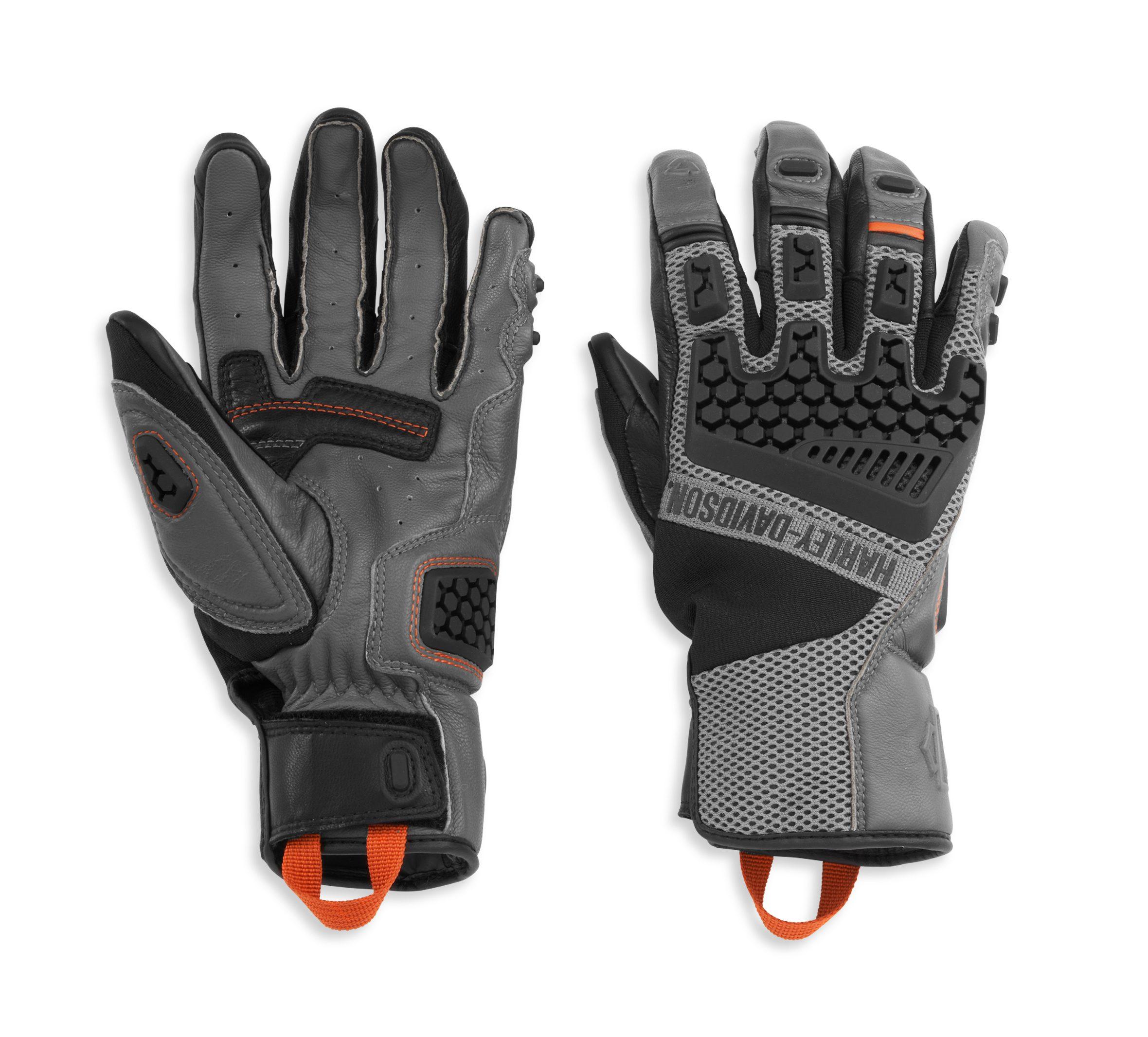 h98183-21VM Guantes Técnicos Para Hombre de Harley-Davidson®. Men's Grit Adventure.